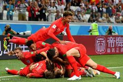 دیدار تیم های ملی فوتبال تونس و انگلیس