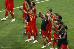 دیدار تیم های ملی فوتبال بلژیک و پاناما