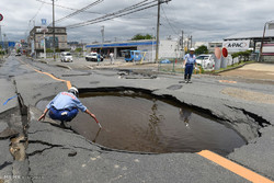 زلزله در اوزاکای ژاپن