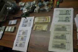 دستگیری عاملان تهیه و توزیع اسکناس تقلبی در نهاوند
