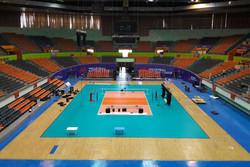 سالن ۱۲ هزارنفری آزادی برای میزبانی لیگ ملتهای والیبال آماده شد