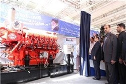 Iran unveils 1st domestically-produced diesel engine