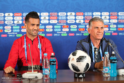 Iran pre-match press conference
