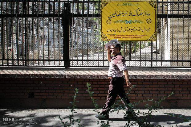موج گرما در تهران