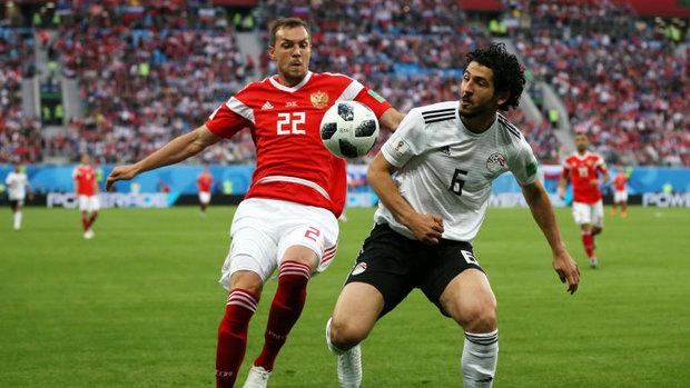 مصر تخسر لقائها الثاني في كأس العالم أمام روسيا ٣_١