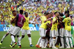 تساوی انگلیس با کلمبیا در وقت قانونی