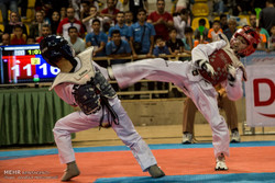 مسابقات تکواندو قهرمانی خردسالان کشور در یزد