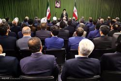 دیدار نمایندگان مجلس با رهبر انقلاب