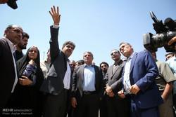 بازدید رئیس شواری شهر تهران از پروژه های عمرانی