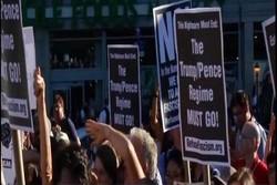 تظاهرات معترضان به جداسازی کودکان از والدین در طرح مهاجرتی ترامپ
