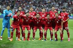 دیدار تیم های ملی فوتبال ایران و اسپانیا