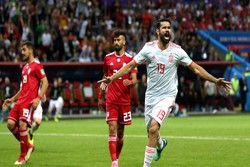 Spain gets lucky win against Iran at World Cup 2018