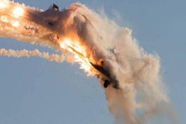 سرنگونی یک پهپاد صهیونیستی بر فراز آسمان سوریه