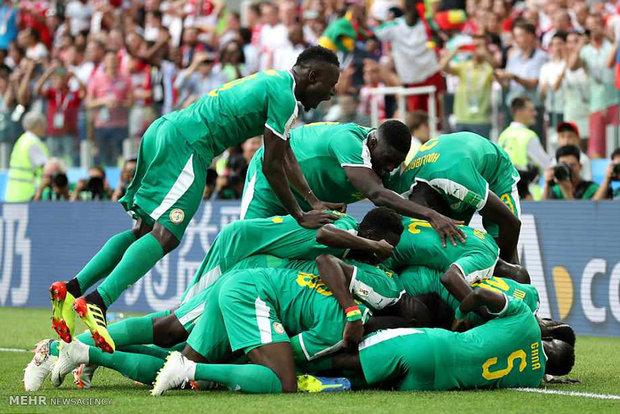 دیدار تیم های ملی فوتبال لهستان و سنگال