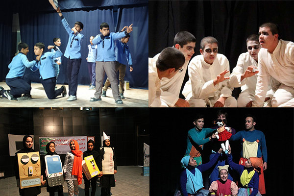 رونق تئاتر در کلاس های درس/ آموزش و پرورش بازوی حمایتی تئاتر شد