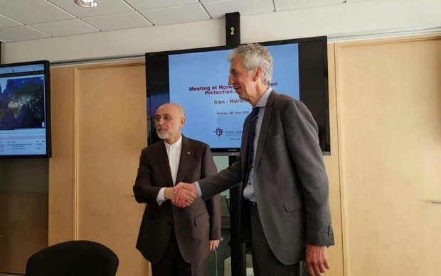 Salehi visits Norwegian Radiation Protection Authority
