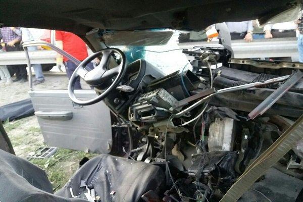 تصادف ۲ پراید در جاده آبعلی/۲ نفر کشته و ۲ تَن مجروح شدند