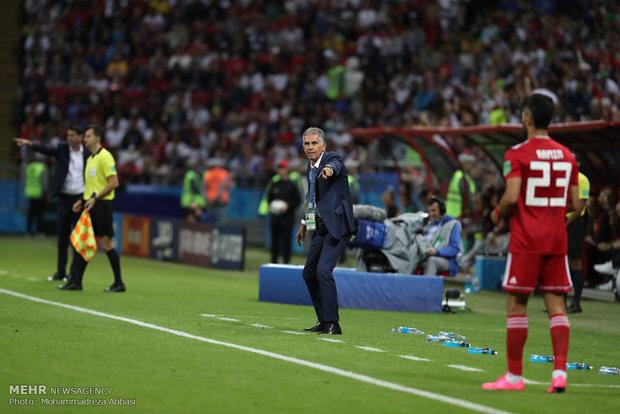 İran-İspanya maçından kareler