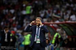 کارلوس کیروش: وزیر ورزش به تیم ملی فوتبال احترام نگذاشت