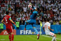 مشاهد من لقاء ايران واسبانيا في كأس العالم 2018  /صور