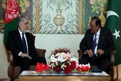 عبدالله عبدالله با رئیسجمهوری پاکستان دیدار کرد
