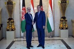 محورهای دیدار عبدالله عبدالله با رئیسجمهوری تاجیکستان