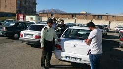 آغاز اجرای طرح برخورد و توقیف خودروهای مسافربر شخصی در کرمانشاه