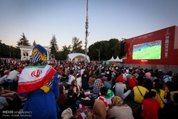 فن فست مسکو در زمان دیدار ایران و اسپانیا