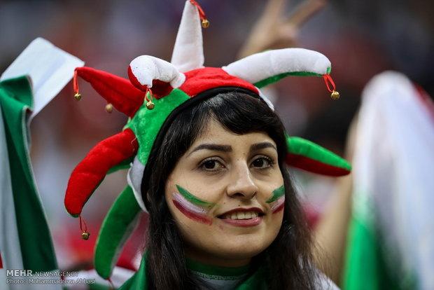 حاشیه دیدار تیم های ایران و اسپانیا