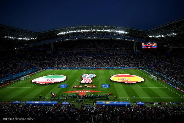 مشاهد من لقاء ايران واسبانيا في كأس العالم 2018