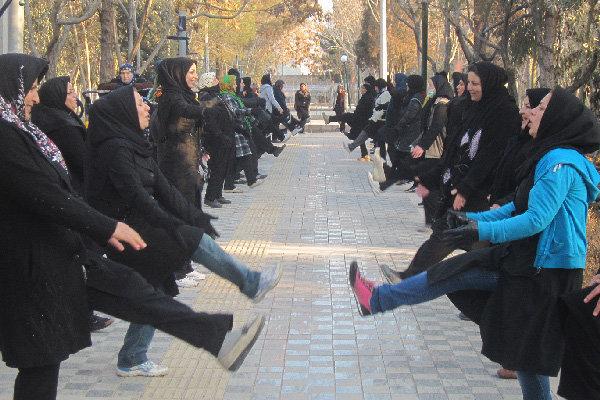 جشنواره شاداب سازی بوستان بهشت مادران
