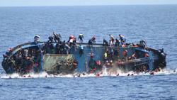 لیبیا کے ساحل کے قریب کشتی الٹنے سے 100 افراد کے ڈوبنے کا خدشہ