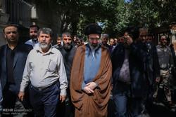 تشییع پیکر حجت الاسلام سید علی اکبر حسینی