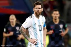 دیدار تیم های ملی فوتبال آرژانتین و کرواسی
