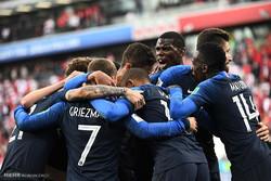 دیدار تیم های ملی فوتبال فرانسه و پرو