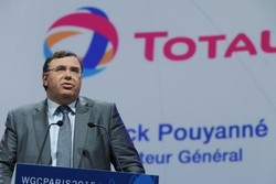 TOTAL CEO says it is 'impossible' for big energy firms to work in Iran