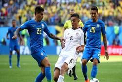 تیم ملی فوتبال برزیل و کاستاریکا