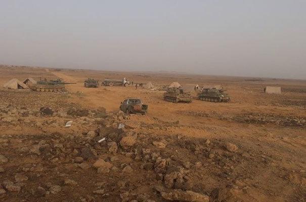الجيش السوري يستهدف عربات أمريكية في اول مواجهة برية