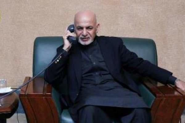 افغان صدر کی سعودی عرب کے بادشاہ سے ٹیلیفون پر گفتگو