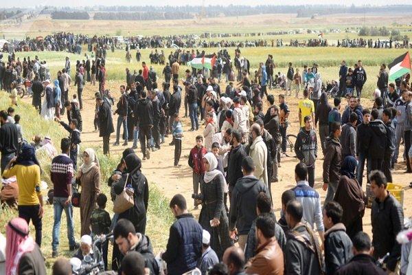 شهادت بیش از ۱۷۰ شهروند فلسطینی و زخمی شدن ۱۸ هزار نفر,
