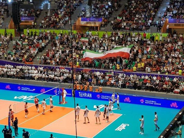 VIDEO: Iran vs South Korea at FIVB Volleyball Nations League