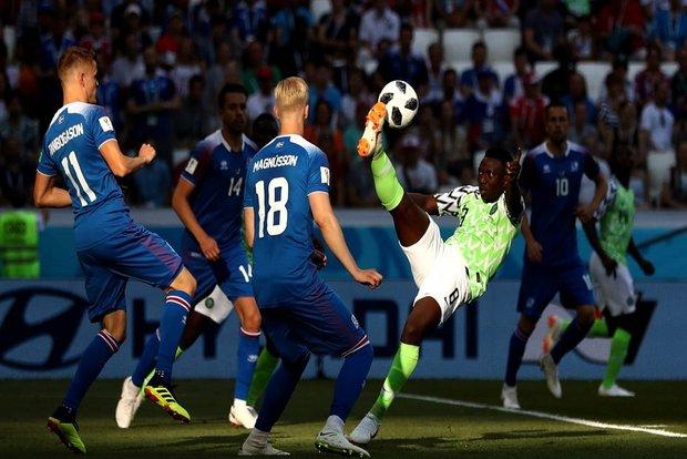 پیروزی نیجریه مقابل ایسلند شانس آرژانتین را برای صعود بیشتر کرد