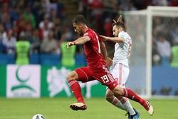 دیدار تیم های ایران و اسپانیا - سید مجید حسینی
