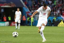 دیدار تیم های ملی فوتبال صربستان و سوئیس