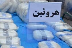 کشف ۲۱ کیلو هروئین در بازرسی از صندوق عقب خودرو در داراب