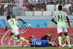 دیدار تیم های ملی فوتبال نیجریه و ایسلند
