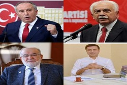 نامزدهای انتخابات ریاست جمهوری ترکیه