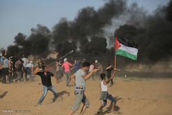"""3 شهداء و124 مصابا برصاص الاحتلال الاسرائيلي في جمعة """"الثبات والصمود"""
