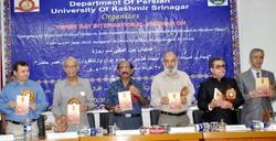 Seminar on Indo-Iranian Persian literature held atUniversity of Kashmir