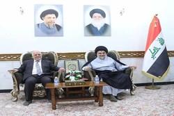 دیدار العبادی با مقتدا صدر در نجف